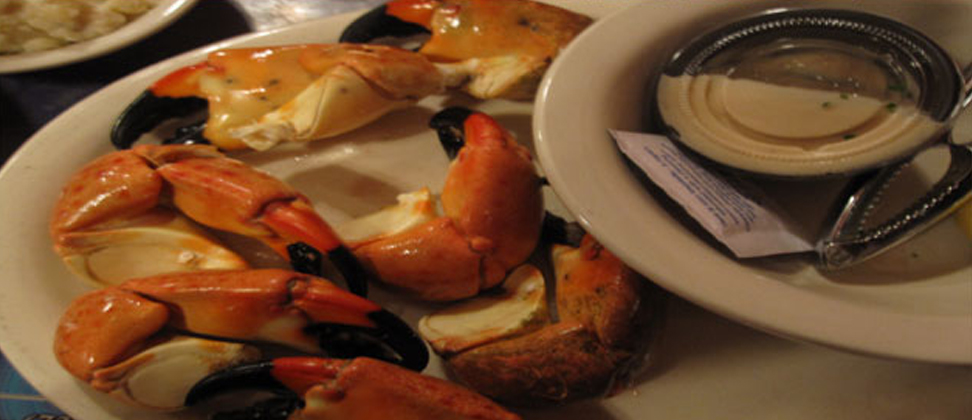 stone crab, fresh seafood